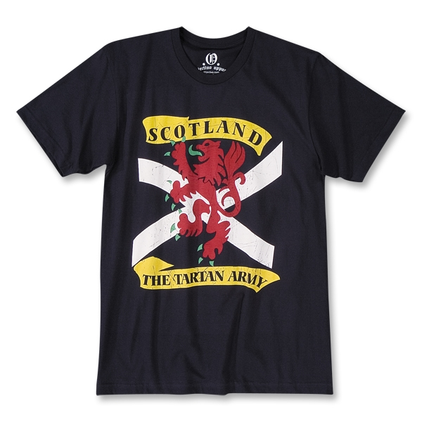 Objectivo Scotland The Tartan Army Soccer T-Shirt