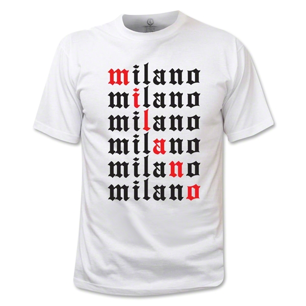 Milano Stacked T-Shirt (White)