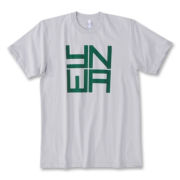 Objectivo YNWA Hoops Green T-Shirt (Gray)