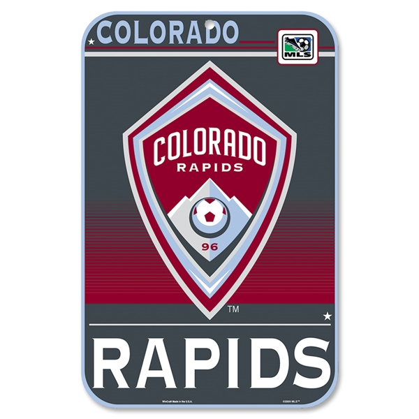 Colorado Rapids Sign