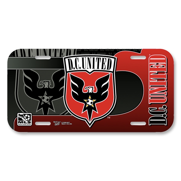 D.C. United License Plate Frame