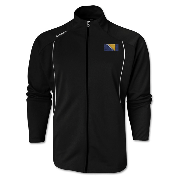 Bosnia-Herzegovina Torino Zip Up Jacket (Black)