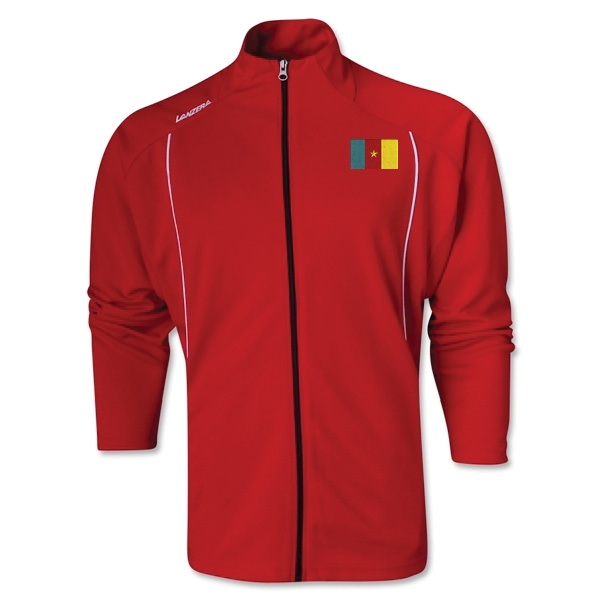 Cameroon Torino Zip Up Jacket (Red)
