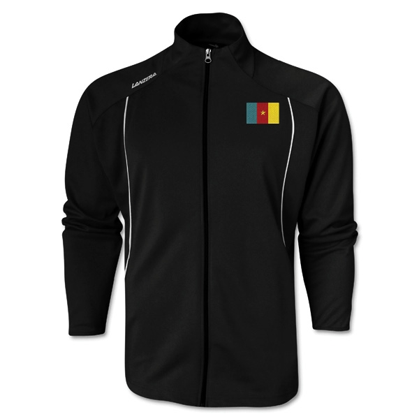Cameroon Torino Zip Up Jacket (Black)