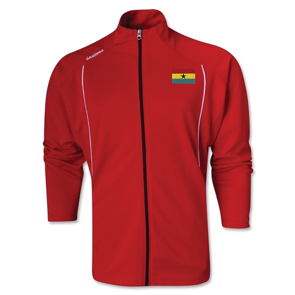 Ghana Torino Zip Up Jacket (Red)