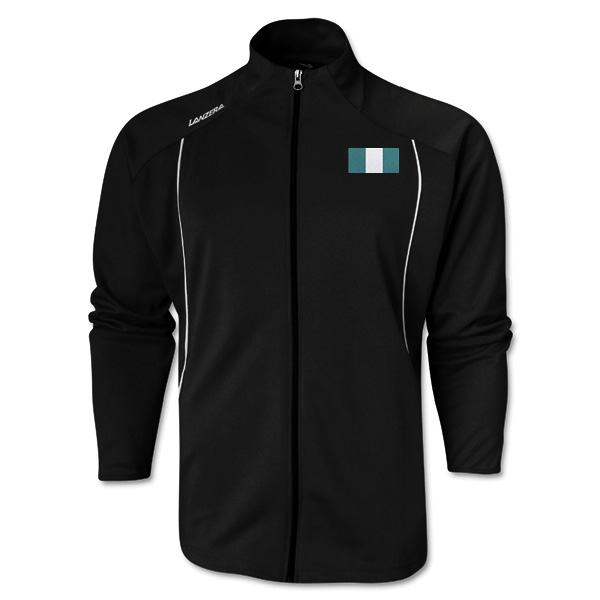 Nigeria Torino Zip Up Jacket (Black)