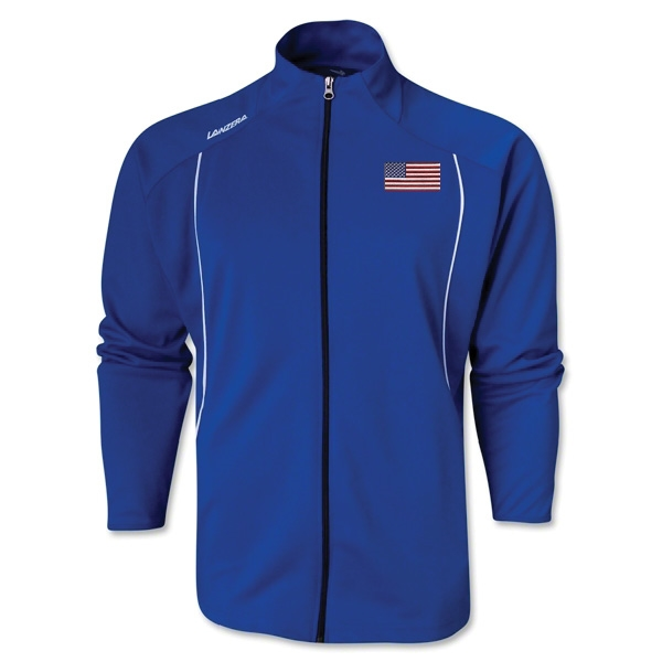 USA Torino Zip Up Jacket (Royal)