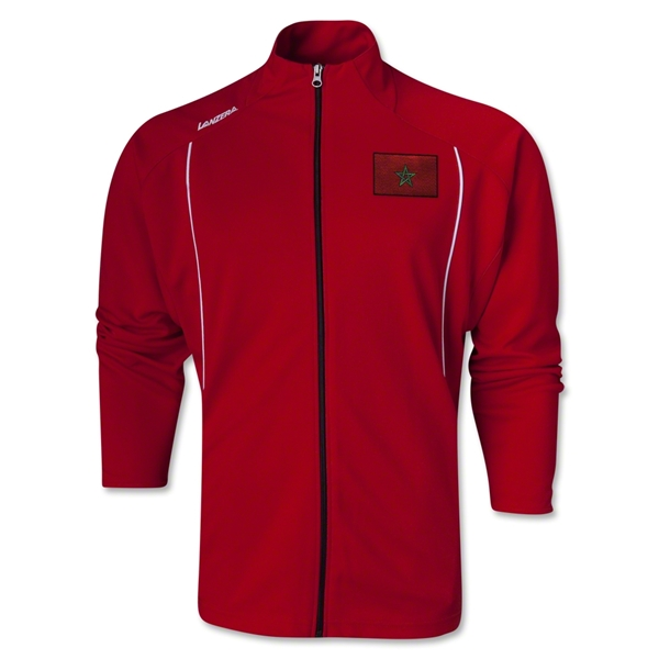 Morocco Torino Zip Up Jacket (Red)