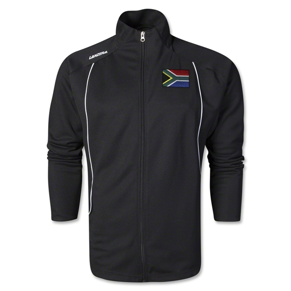 South Africa Torino Zip Up Jacket (Black)