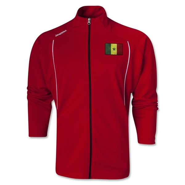 Senegal Torino Zip Up Jacket (Red)