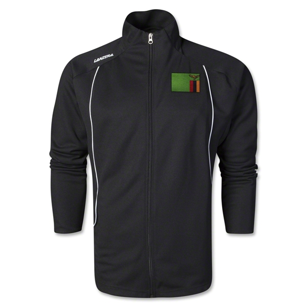 Zambia Torino Zip Up Jacket (Black)