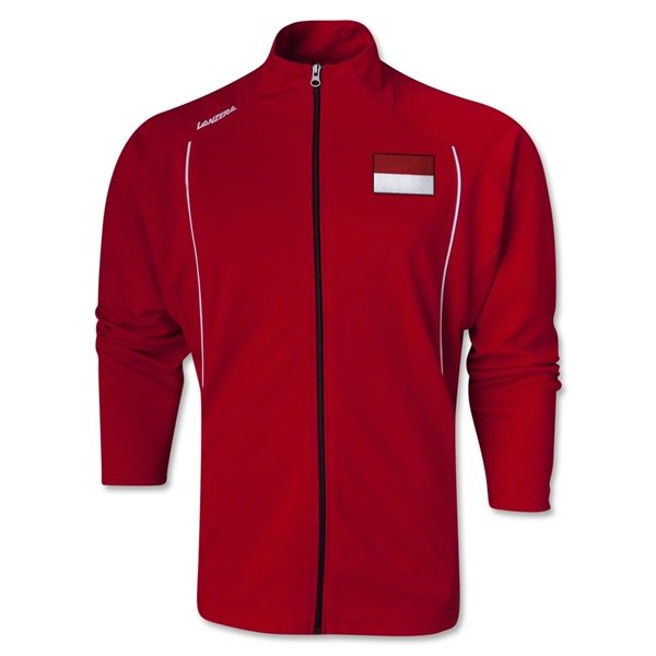 Indonesia Torino Zip Up Jacket (Red)