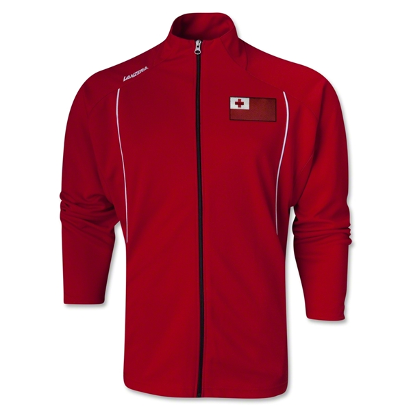 Tonga Torino Zip Up Jacket (Red)