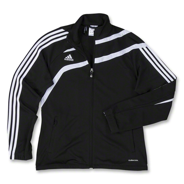 adidas Women's Tiro Training Jacket (Black)