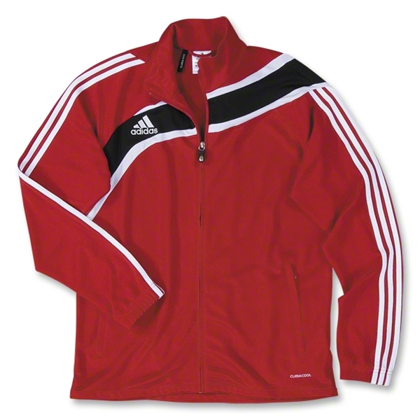 adidas Women's Tiro Training Jacket (Red)