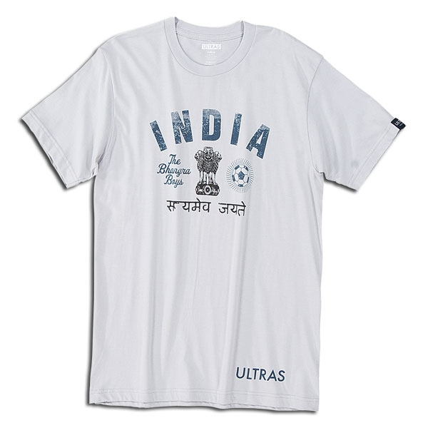 Objectivo Ultras India Bhangra Boys T-shirt (Gray)