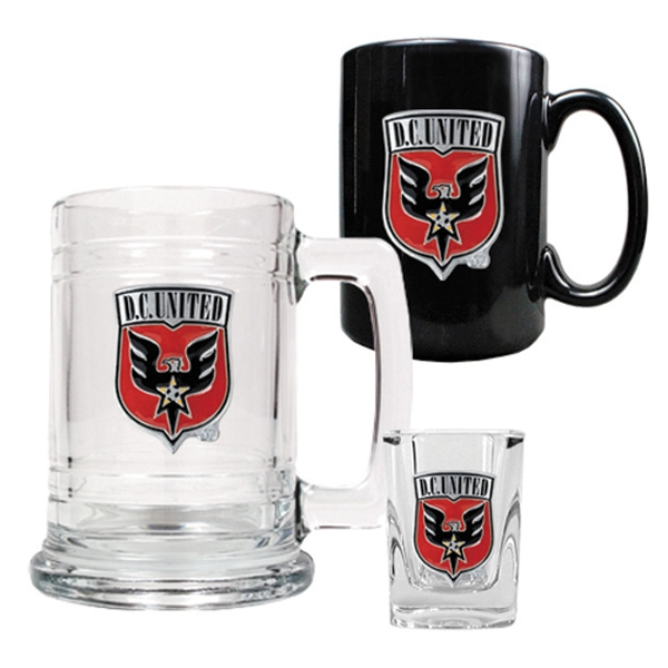 D.C. United 3 Piece Drinkware Set