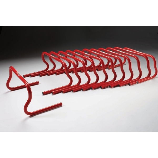 "Kwik Goal 9"" Speed Hurdles (Red)"