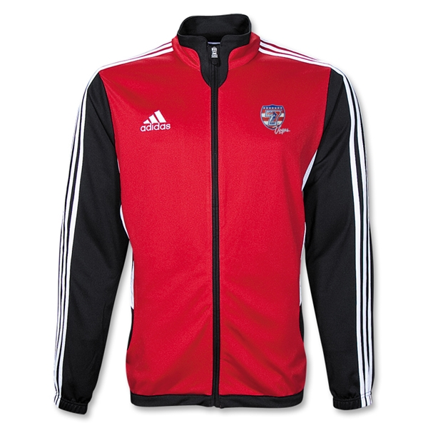 adidas USA Sevens Tiro II Training Jacket (Red)