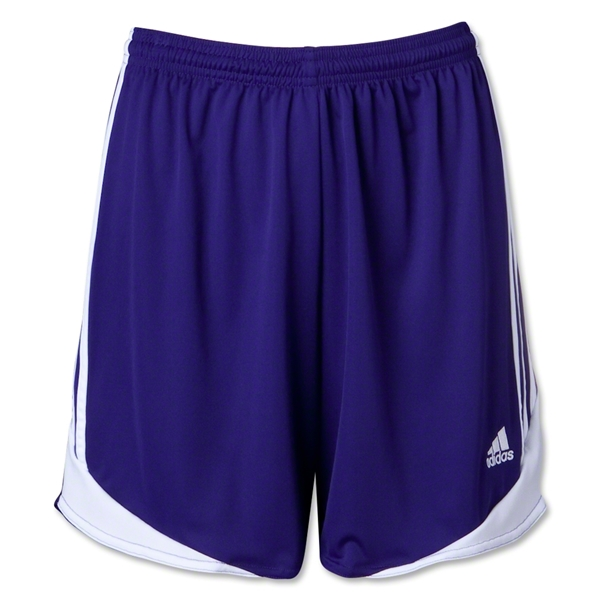 adidas Tiro II Women's Soccer Shorts (Purple)