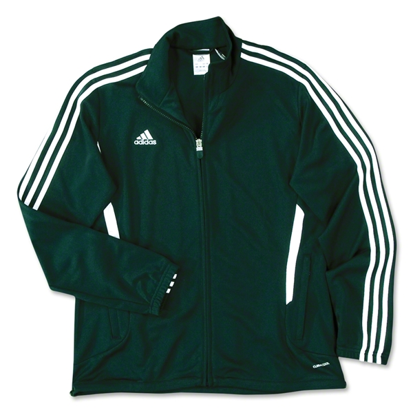 adidas Tiro II Women's Training Jacket (Dark Green)