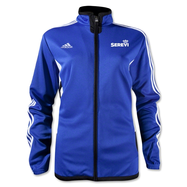 adidas Serevi Women's Tiro II Training Jacket (Royal)