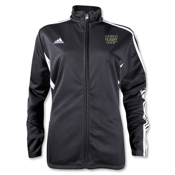 adidas World Rugby Shop Women's Tiro II Training Jacket (Black)
