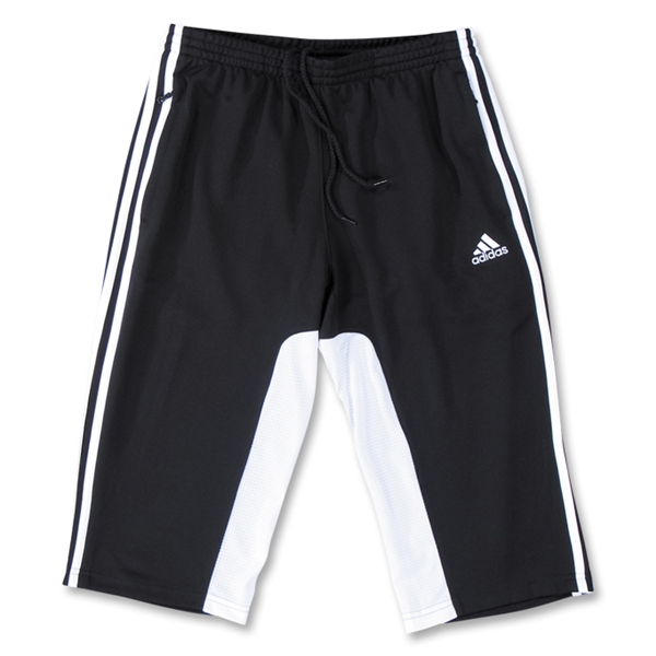 adidas Tiro II Women's 3/4 Pants (Black)
