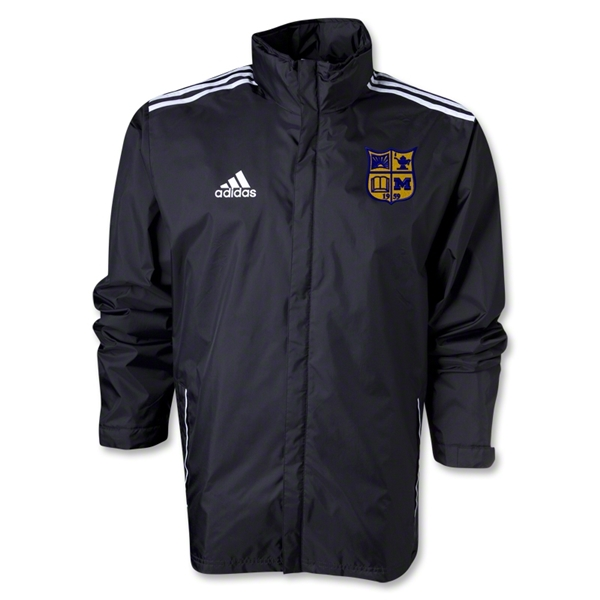 Michigan Rugby Rain Jacket (Black)