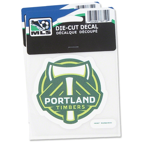 Portland Timbers 4x4 Decal