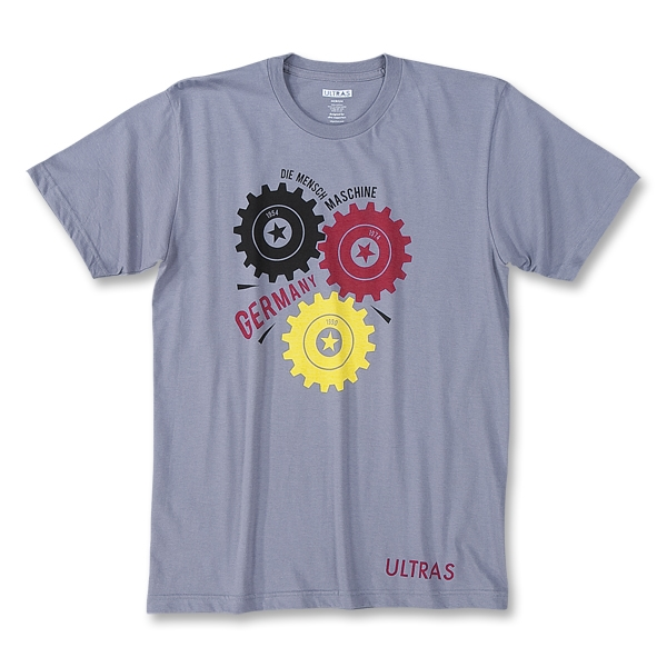 Objectivo Ultras Germany The Man Machine T-Shirt (Gray)