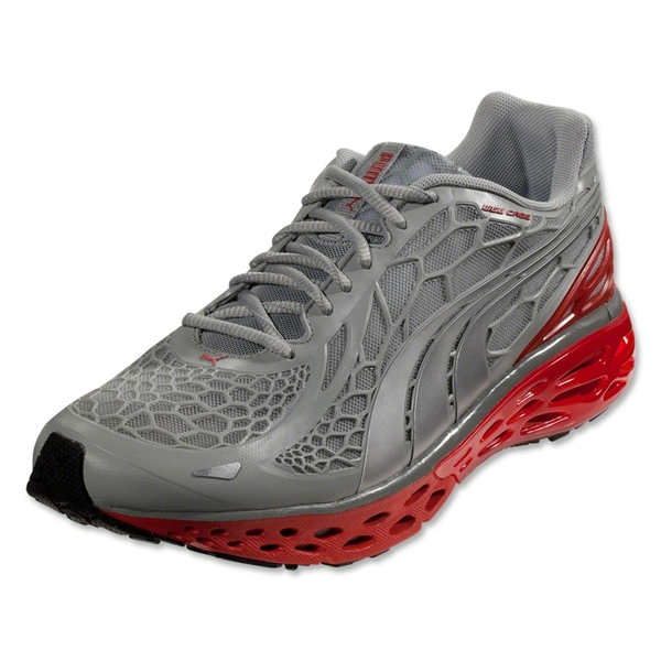PUMA Bioweb Elite Running Shoe (High Rise Heather/PUMA Silver)