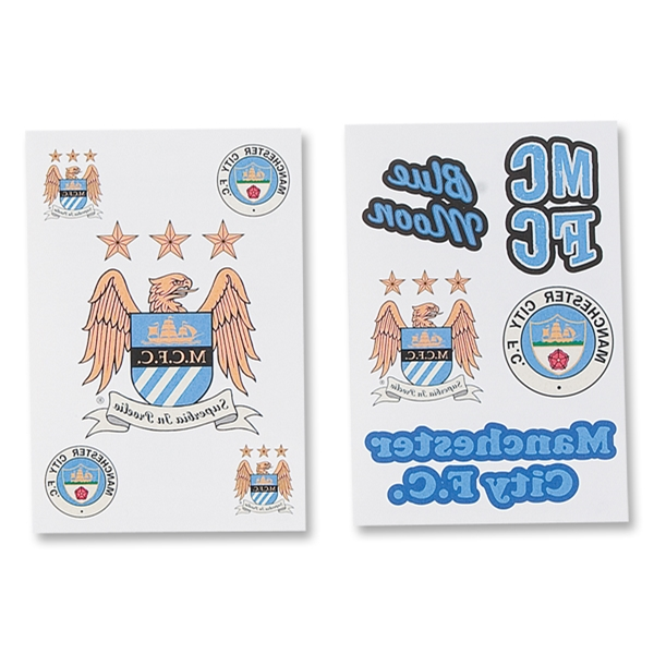 Manchester City Tattoo Pack