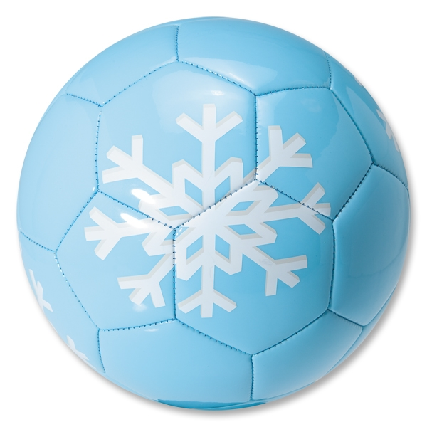 Snowflake Soccer Holiday Ball