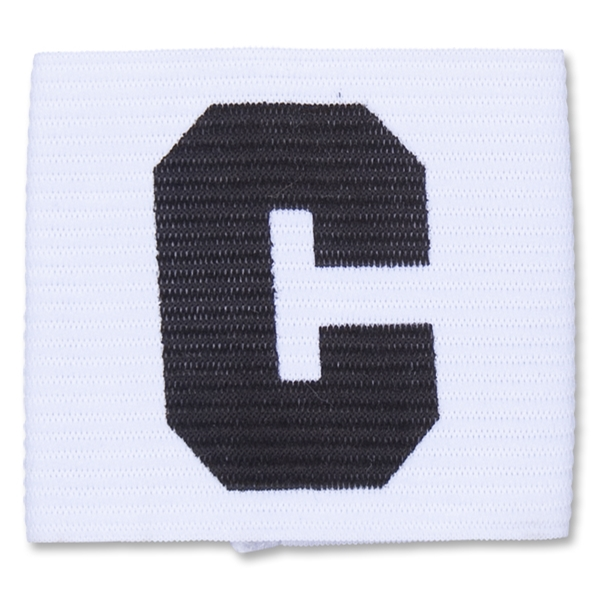 European Style Junior Captain Armband (White)