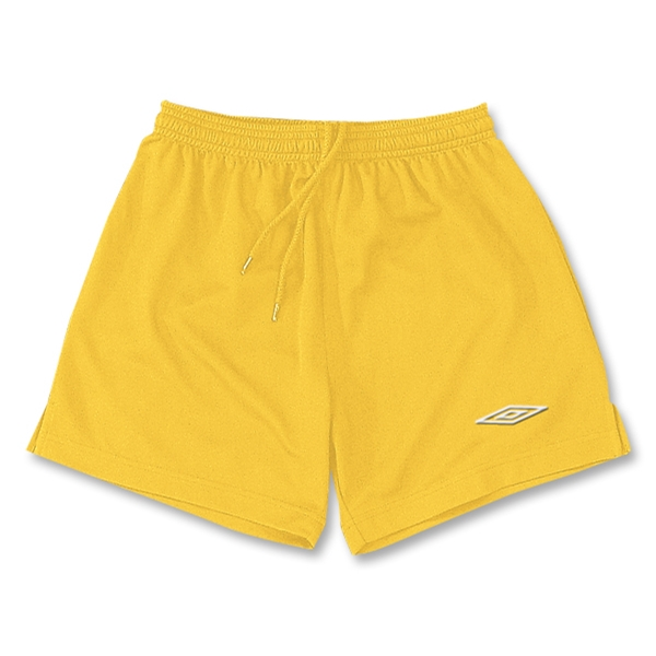 Umbro Manchester Soccer Shorts (Yellow)