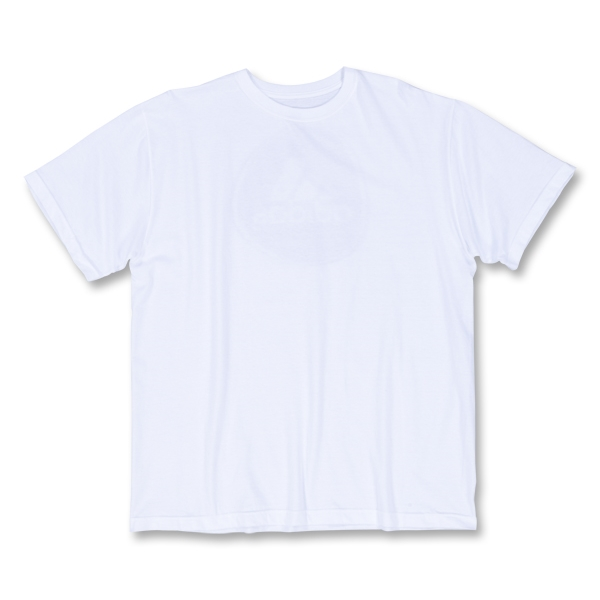 adidas Youth Football Signature Cotton T-Shirt (White)
