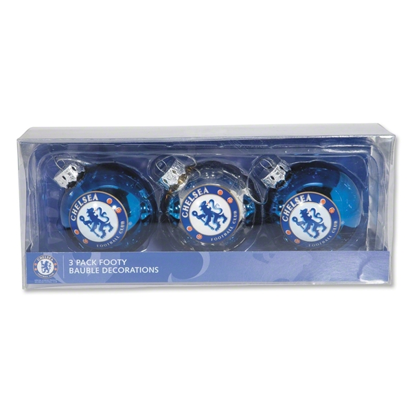 Chelsea Christmas Tree Ornament 3 Pack