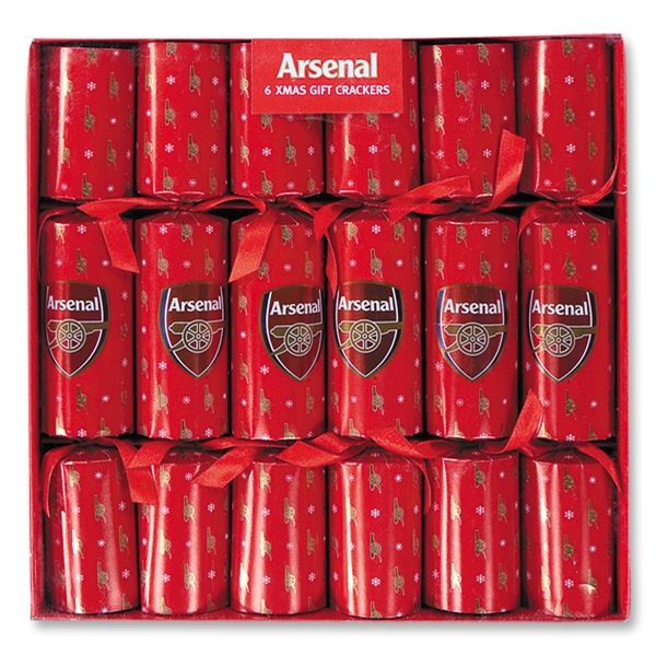Arsenal Luxury Crackers 6 Pack