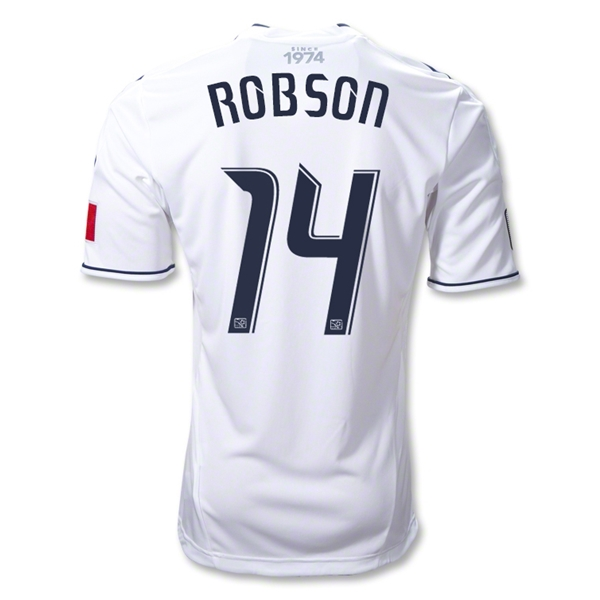 Vancouver Whitecaps 2012 ROBSON Authentic Home Soccer Jersey