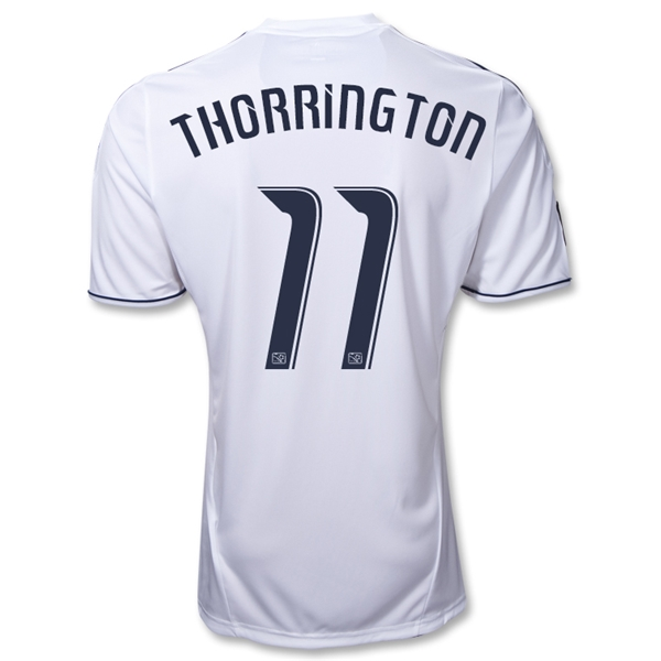 Vancouver Whitecaps 10/11 THORRINGTON Home Soccer Jersey