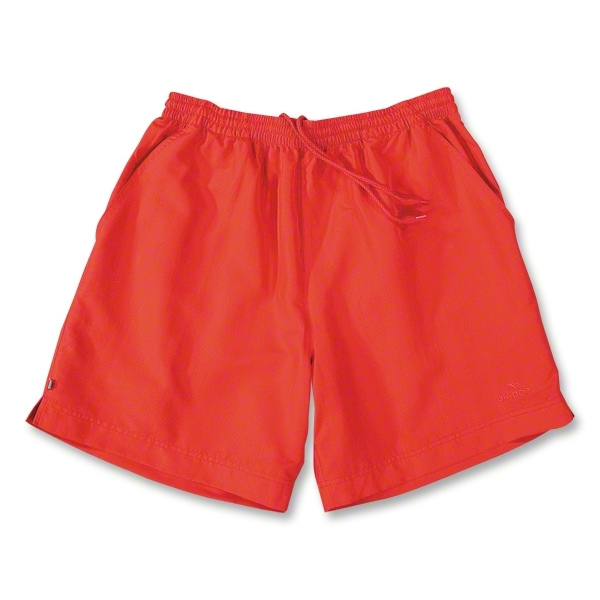 Diadora Match Soccer Team Shorts (Red)