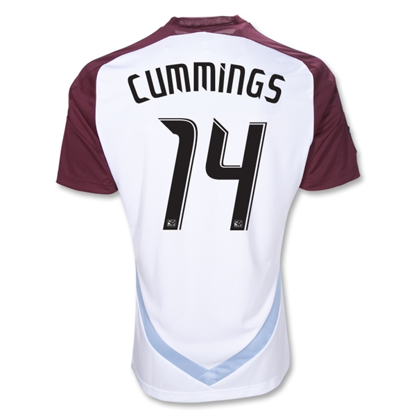 Colorado Rapids 2012 CUMMINGS Away Replica Soccer Jersey