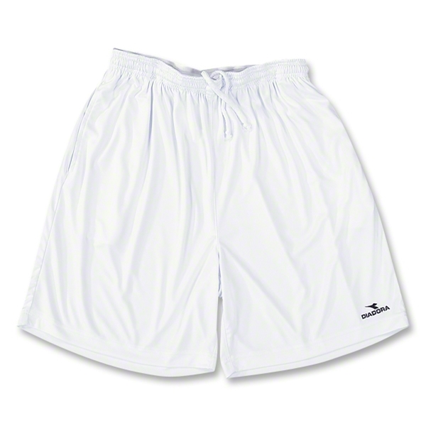Diadora Matteo Soccer Team Shorts (White)