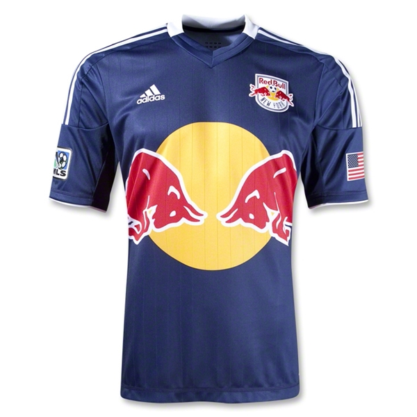 New York Red Bulls 2013 Authentic Secondary Soccer Jersey