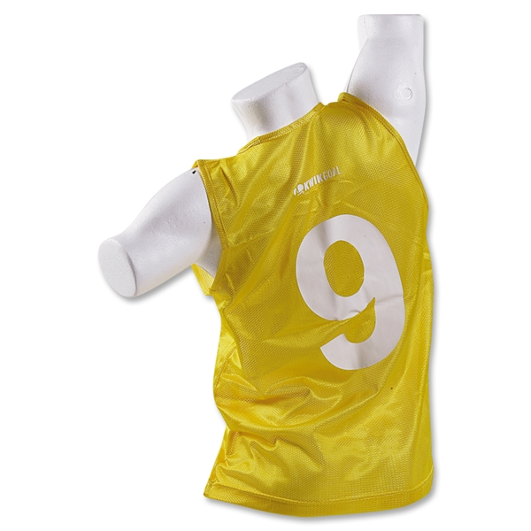 Kwik Goal Tryout Training Vest (Yellow)