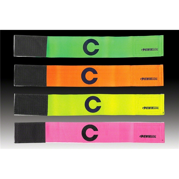 Kwik-Goal Captain C Bands-6 pack (Green)