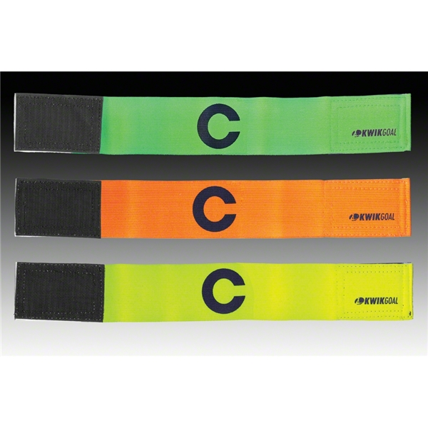 Kwik-Goal Captain C Bands-6 pack (Yellow)