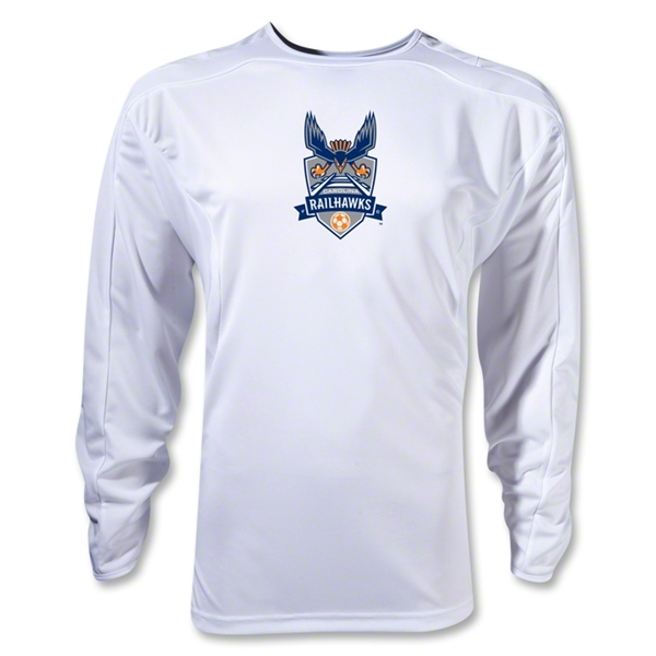 Carolina Railhawks LS Training Jersey (White)