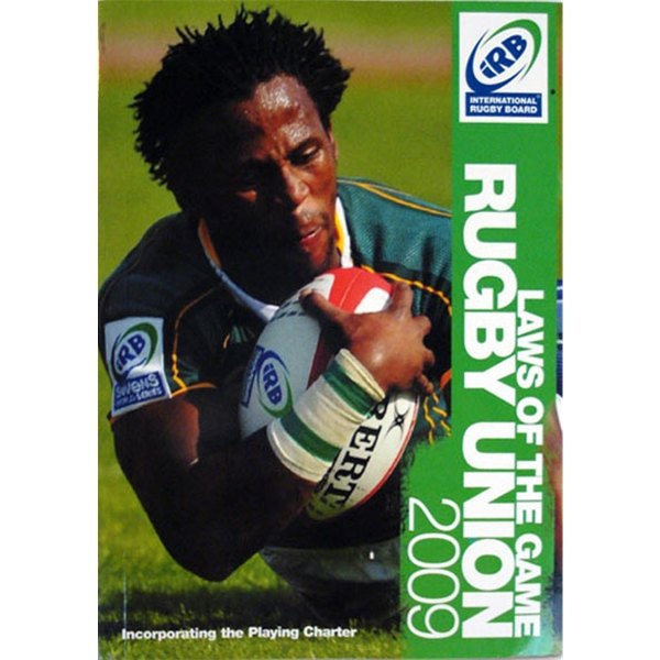 Official iRB 2009 Laws of the Game, Rugby Union